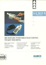 Microfare sales leaflet (front)