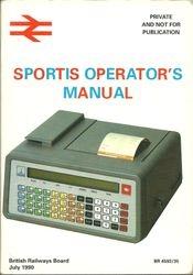 SPORTIS instruction book