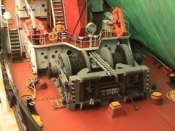 Aft Deck of SEASPAN ROYAL build