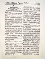 Patent text 1st page