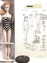 My first Barbie and original Patent