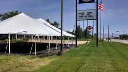 40x60 Vip Tent for customers