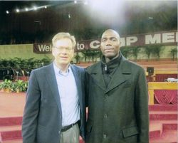 Pastor Durstine and Pastor Bob Cornell