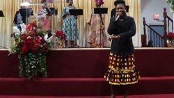 Sis. Bendu Kollie Minister worship