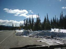 Top of Mirias Pass hwy.2