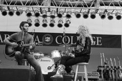 Taylor and Chuck Wicks