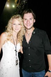 Taylor with Brad Mates from Emerson Drive)