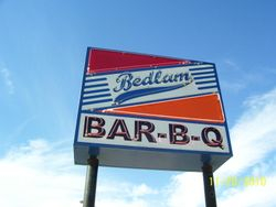 Lunch At Bedlam Barbeque
