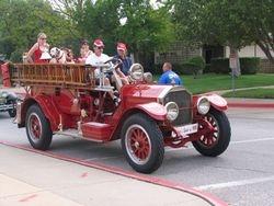 1919 El Reno  Fire Truck
