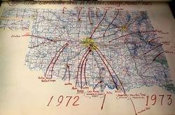 Club Map 1972-1973