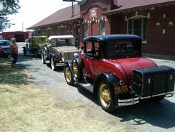 3 Late 1931 Coupes
