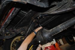 Red Car Rear Spring Replacement