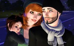 Kayleigh, Alex, and Jasper.