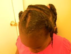 No Heat Natural Hair Gel Style