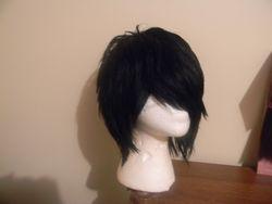 Duby Short black Razor Cut Wig