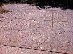 Large Random Stone used on Driveway