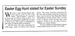 Countrified's easter egg hunt.