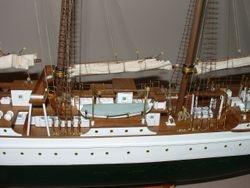Midship of the J.S. Elcano