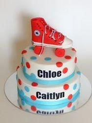 Roller skate themed Birthday Cake