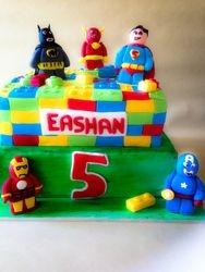 Lego - superhero theme