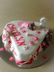 Build a bear themed party cake