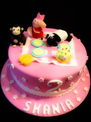 Peppa Pig, Curious George & Shaun the Sheep
