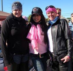 Jocelyn, Brenda, and MJ