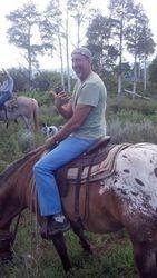 Loren ready to ride