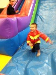 Love that Giant Slide!