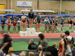 Provinciaal Kampioenschap West Vlaanderen Tumbling C niveau Lore Viane