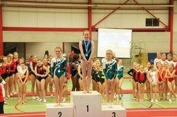 Provinciaal Kampioene West Vlaanderen C niveau Marie Vanhee