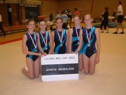 Lucien Mus Cup ploeg Juniors/Seniors