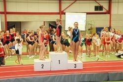 Provinciaal Kampioene Tumbling C Miniemen 2 Brons voor Maud Vanderhaeghe