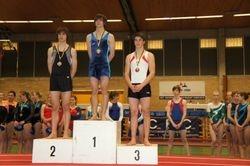 Provinciaal Kampioen West Vlaanderen Tumbling C Niveau Senior Louis Samyn