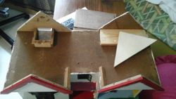 top view, roof pieces removed