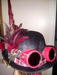 Helen's Steampunk hat