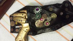 Holster for Steampunk Gun