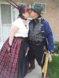 Steampunk Kiss