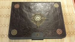Steampunk Cover for Wife's Tablet