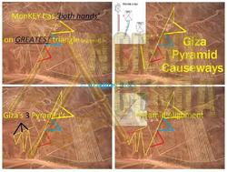 The Nazca Line - Pyramid Causeways