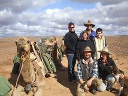 Beltana Station Camel Safaris Crew