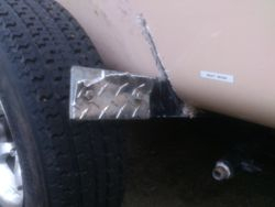 TIRE FAILURE WITH DAMAGE
