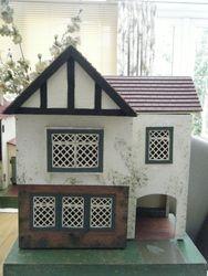 Amersham brick paper with porch