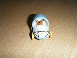 Rabbit in a pram