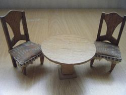 German table & chairs