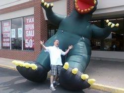 Godzilla and Mike Fitzgerald