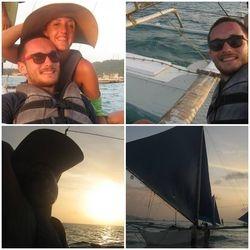 Boracay, sailing