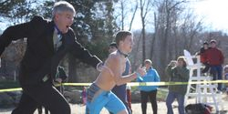 Ackert Participates in Coventry Plunge