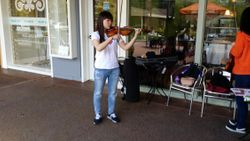 May 16 Street Busking at Redhill Shopping Center