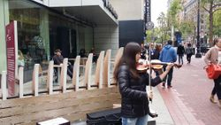 May 17 Street Busking at Westfield in San Francisco